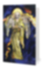 Fanitsa Petrou Art, the 7 archangel cards, archangel Jophiel, Angel Art, Angel calendar, the seven archangels illustrations, Angel illustration by Fanitsa Petrou, www.fanitsa-petrou.com