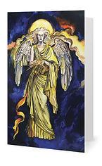 Fanitsa Petrou Art, the 7 archangel cards, archangel Jophiel, Angel Art, Angel calendar, the seven archangels illustrations, Angel illustration by Fanitsa Petrou, www.fanitsa-petrou.com