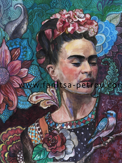 Frida Kahlo portrait - 1