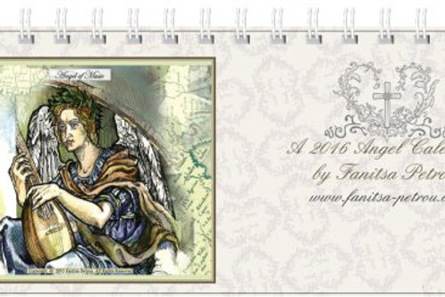 An Angel - desk Calendar 2016, I