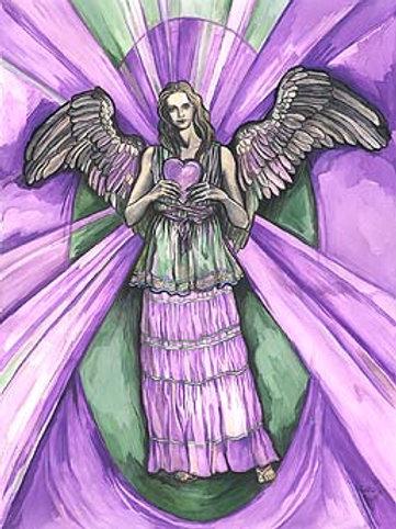 """Archangel Kyniel"" poster"