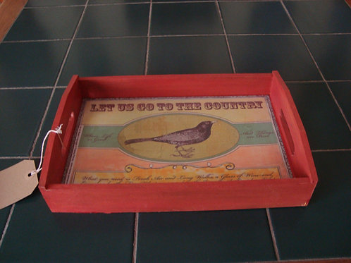 """""""Red Country Tray"""""""