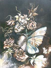 Fanitsa Petrou Art, Nature spirit, Fairy painting, all items on sale, art on sale, Fantasy Art, Angel Art, Angel painting, Fairy paiting, original art,  buy online, Art by fanitsa petrou, www.fanitsa-petrou.com