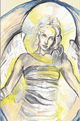 """Angel of Surrender"" Bookmark"