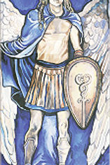 """Archangel Michael"" Bookmark"