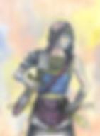 Fanitsa Petrou Art. Fantasy Art by Fanitsa Petrou. warrior princess, heroine, goddess tradition, www.fanitsa-petrou.com