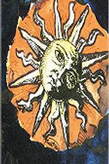 """Red Sun"" Bookmark"