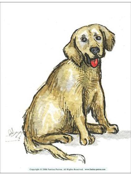 """""""Dog"""" card"""