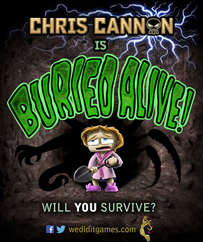 Chris Cannon Burried Alive