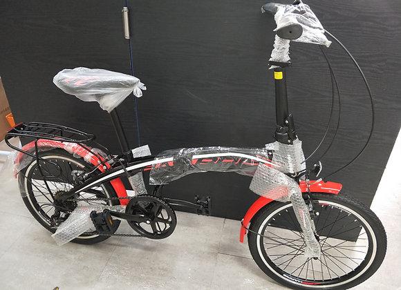 "20"" Harris Folding Bicycle (Red)"