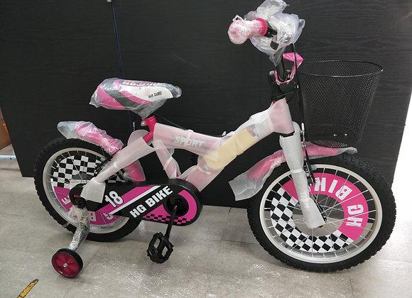 "14"" - 18"" Children Bicycle (Pink)"