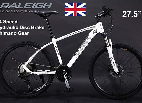 "27.5"" Raleigh Mountain Bicycle"