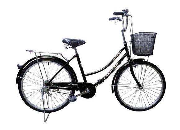 "24"" Fashion Lady Bicycle (Black)"