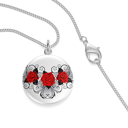 Roses of the Garden Necklace