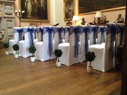 Covers and sashes along with baby bays