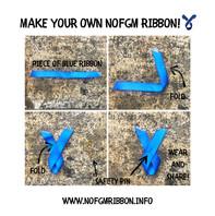 DIY NoFGM Ribbon