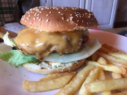 hamburger patatine casa
