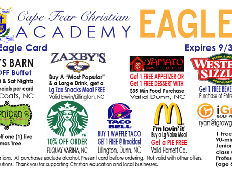 Eagle Card Sneak Peek