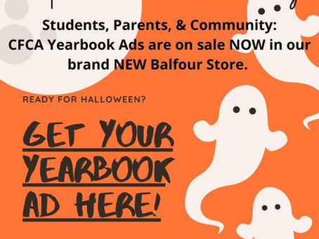2020-2021 Yearbook Ads on Sale Now!