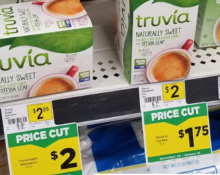 Score Truvia Sweetener for as low as $0.25 at DG