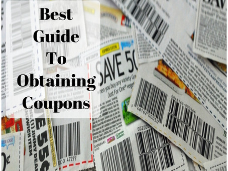 Lesson 1; Best Guide to Obtaining Coupons