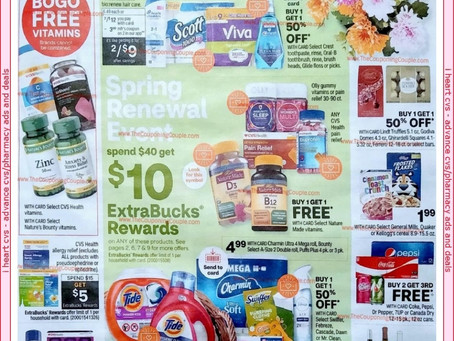 CVS AD PREVIEW FOR 04/04 - 04/10