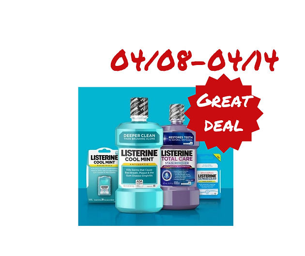 image regarding Listerine Coupons Printable named Wonderful Package upon Listerine Products and solutions starting up 04/08 at CVS