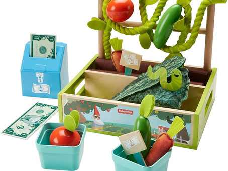 $11.99-Fisher-Price Farm-to-Market Stand