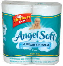 Angel Soft Bath Tissue $0.22 per roll