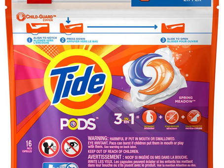 Score Tide Pods for $2.32 each at Rite Aid starting 01/26