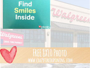 Free 8x10 Photo Print at Walgreens