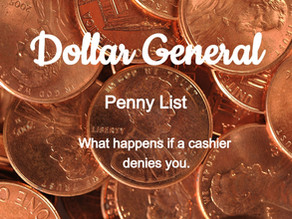 Why don't you call and complain about penny items.