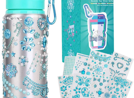 $4.60-Decorate & Personalize Your Own Water Bottle