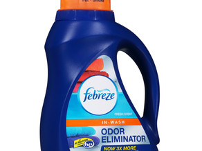 Printable $3.00 off Febreze In-Wash Odor Eliminator Coupon