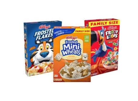 KELLOGG'S CEREALS as low as $0.27