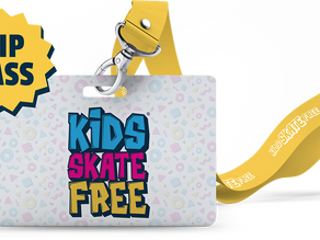 KIDS SKATE FREE at a rink near you.
