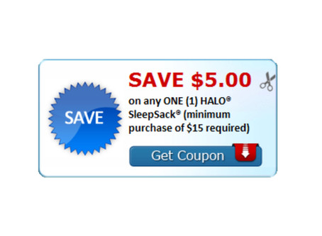 $5.00 off Halo SleepSack Coupon