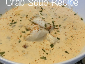 The Best (and easiest) Cream of Crab Soup Recipe