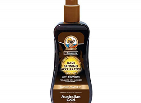 $3.33 Australian Gold Dark Tanning Accelerator Spray Gel With Bronzer