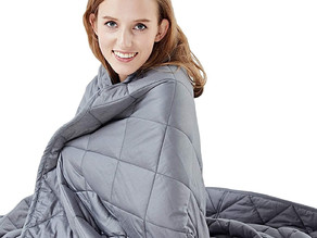 $19.99- Hypnoser Weighted Blanket 60% off original price