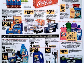 Dollar General Ad 4/25/21 – 5/1/21- Dollar General Weekly Ad Preview