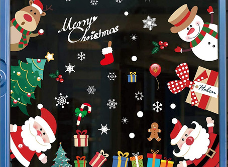 $6.39-296PCS Christmas Window Stickers