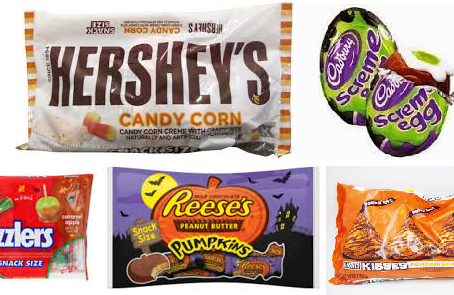 Hershey Fun Size Candy Bags  $1.50 each starting 10/20 at Rite Aid