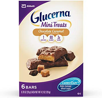 FREE Glucerna mini treats snack bars 6 ct.  at CVS starting 01/26