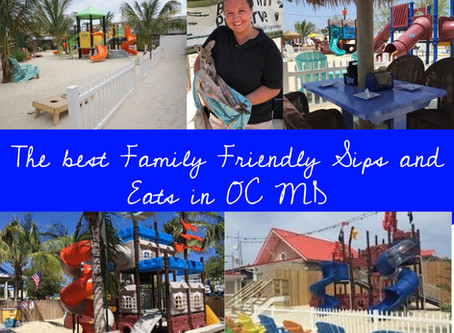 How to make everyone happy. The best family friendly places for Happy Hour and Eats in Ocean City MD