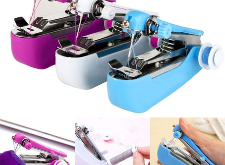 $14.99 Portable Mini Handheld Sewing Machine