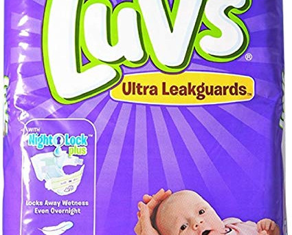 Score LUVS Diapers at Walmart for $3.47