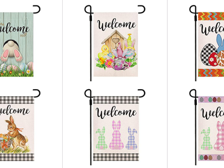 Super Cute Easter Flags 40% Off