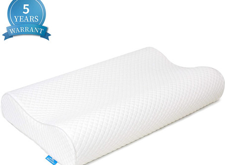 $17.49-Queen Contour Memory Foam Pillow