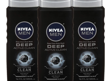 $2.92 NIVEA Men DEEP Active Clean Body Wash